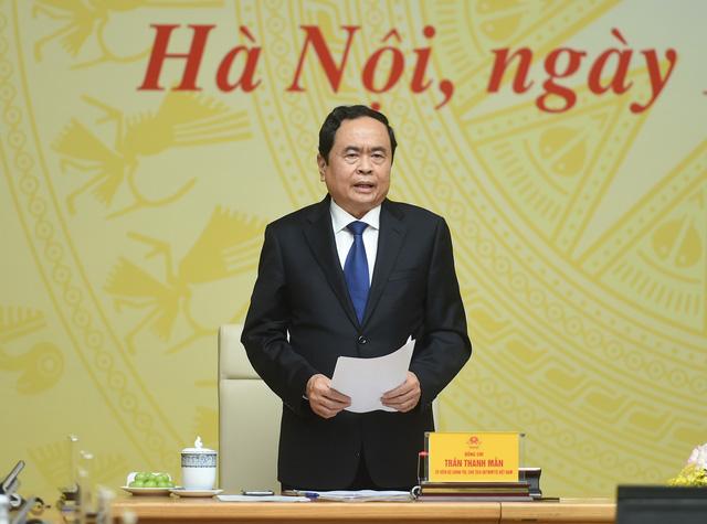 Thủ tướng: Phối hợp giữa Chính phủ và Mặt trận Tổ quốc ngày càng thiết thực, hiệu quả - Ảnh 1.
