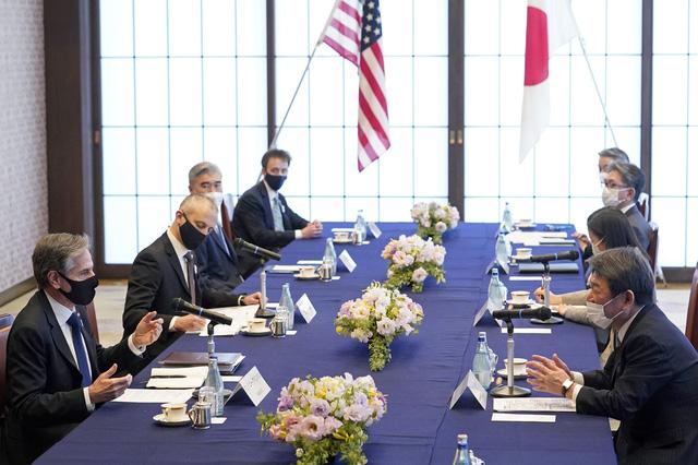 Mỹ - Nhật Bản tiến hành đối thoại 2+2, hoạch định cơ chế hợp tác - Ảnh 1.
