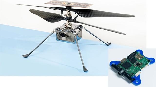 Qualcomm hợp tác với NASA phát triển trực thăng Sao Hỏa - Ảnh 1.