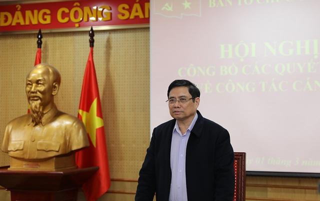 Ban Tổ chức Trung ương công bố quyết định về công tác cán bộ - Ảnh 1.