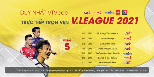 TP Hồ Chí Minh và Hà Nội FC: Tâm điểm vòng 5 V-League - Ảnh 2.
