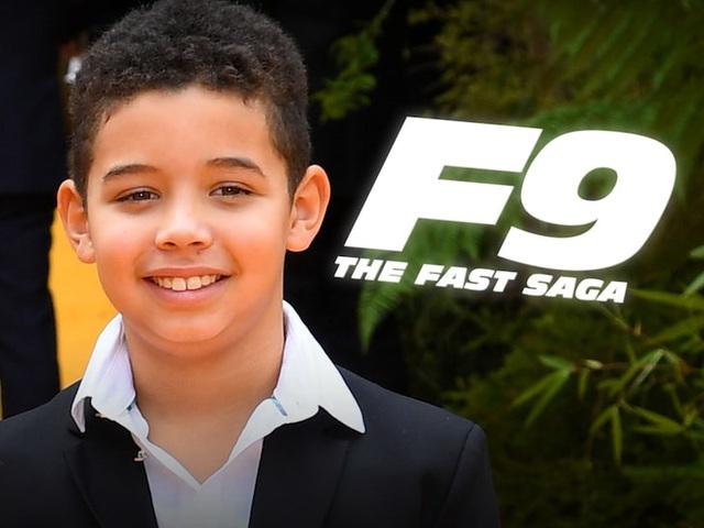 Vin Disel sẽ đóng Fast & Furious 9 cùng con trai - Ảnh 1.