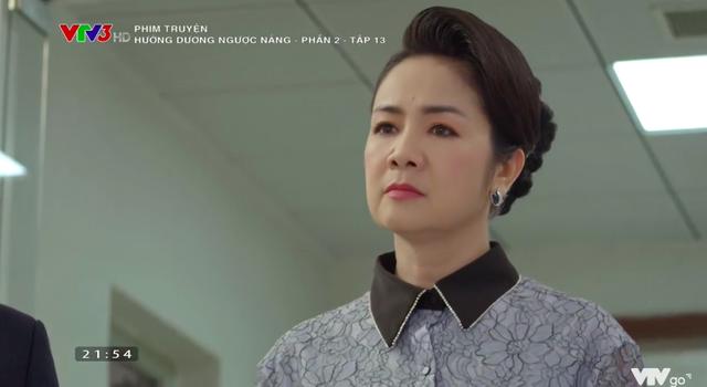 Hướng dương ngược nắng - Tập 43: Hoàng (Việt Anh) có lỗi nhưng không có tội, bà Cúc (NSND Thu Hà) đương đầu trước bão táp - ảnh 7