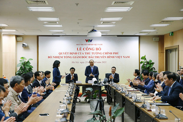 The Prime Minister has appointed Mr. Le Ngoc Quang, Standing Deputy General Director of the Vietnam Television (VTV), as VTV General Director.