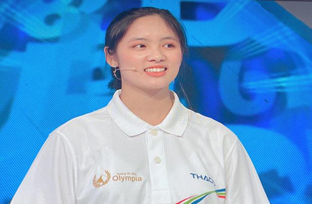 Nữ sinh giành vòng nguyệt Olympia gây sốt vì quá xinh, nhiều tài lẻ - Ảnh 2.