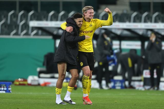 Thắng tối thiểu, Dortmund vào bán kết Cúp Quốc gia Đức - Ảnh 2.