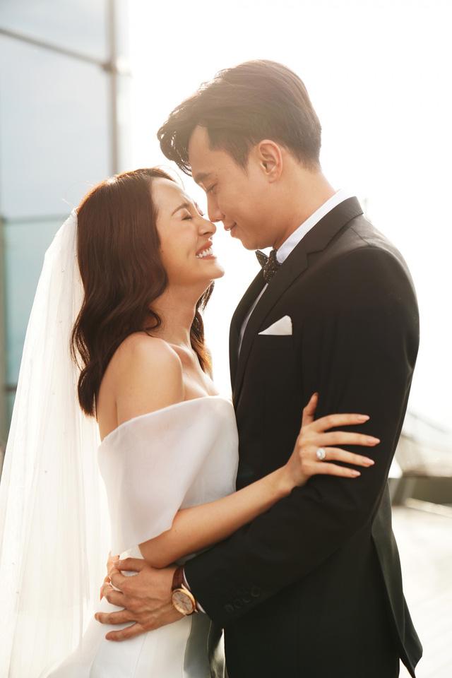 Hé lộ ảnh cưới của Bảo Anh – Quốc Trường trong Bẫy ngọt ngào - Ảnh 1.