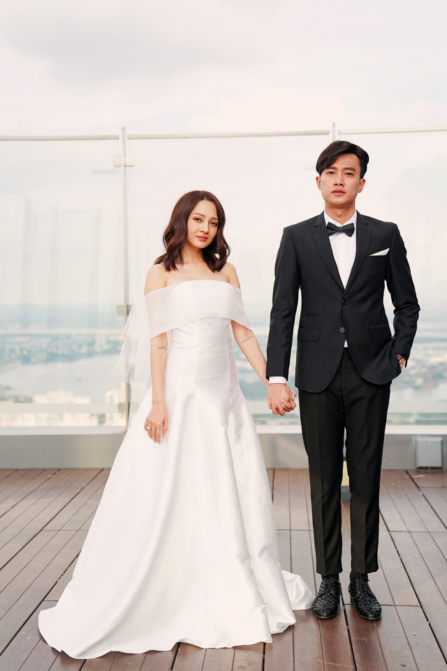 Hé lộ ảnh cưới của Bảo Anh – Quốc Trường trong Bẫy ngọt ngào - Ảnh 2.