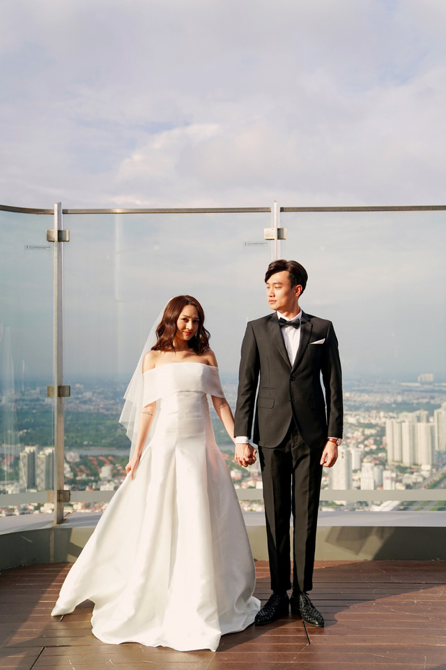 Hé lộ ảnh cưới của Bảo Anh – Quốc Trường trong Bẫy ngọt ngào - Ảnh 3.
