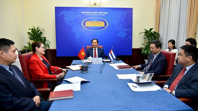 Việt Nam chia sẻ các biện pháp ứng phó COVID-19 với Cuba - ảnh 2