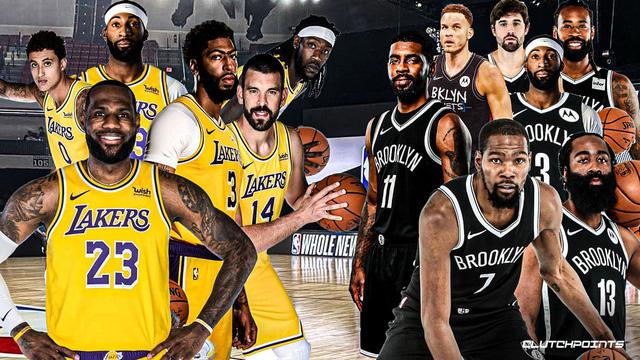 Khi Los Angeles Lakers & Brooklyn Nets thiết lập những Siêu đội hình - Ảnh 1.