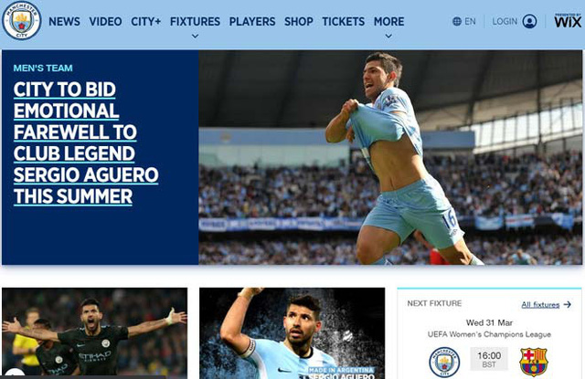 Aguero viết tâm thư tri ân Manchester City - Ảnh 1.