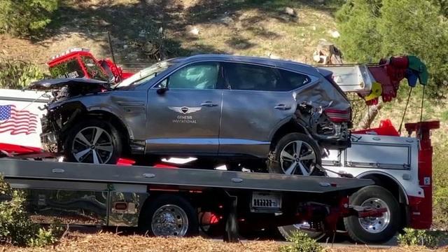 Giả định mới về vụ tai nạn của Tiger Woods - Ảnh 1.