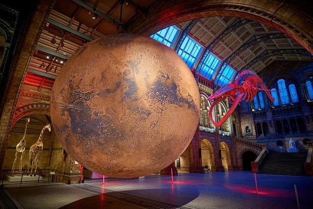Ấn tượng, mô hình Sao Hỏa khổng lồ tại Bảo tàng Anh - ảnh 1