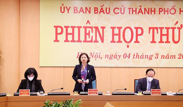 Hà Nội có 59 người ứng cử đại biểu Quốc hội, 190 người ứng cử đại biểu HĐND - Ảnh 1.