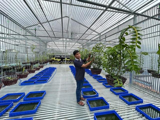 Trương Tuấn Anh chia sẻ bí kíp để thành công trong nuôi trồng hoa lan - Ảnh 1.
