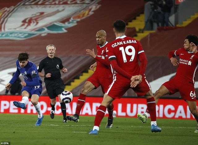 Liverpool 0-1 Chelsea: Thua trận thứ 5 liên tiếp trên sân nhà, The Kop rơi xuống vị trí thứ 7 - Ảnh 1.