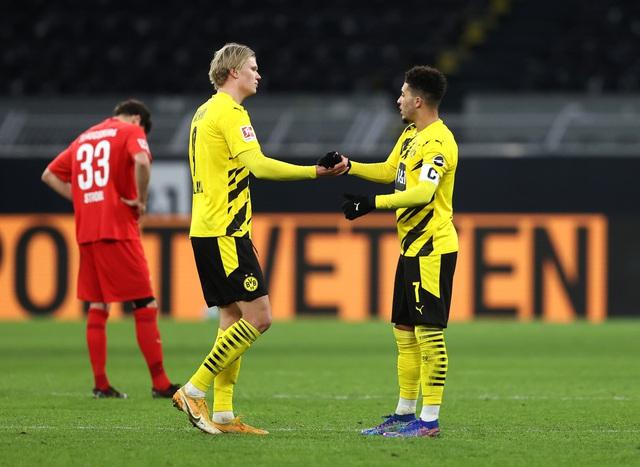 Cặp bài trùng Sancho - Haaland: Chìa khóa chiến thắng của Dortmund - Ảnh 1.