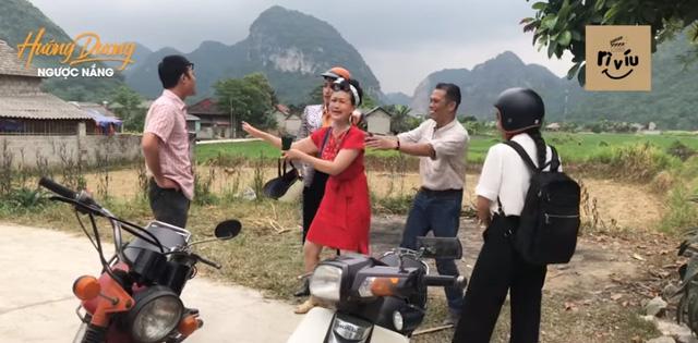 Đạo diễn Hướng dương ngược nắng bật cười trước cảnh Hải quay xe bị bứt râu - Ảnh 1.