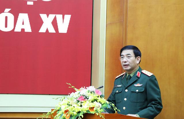 2 Thứ trưởng Bộ Quốc phòng được giới thiệu ứng cử đại biểu Quốc hội khóa XV - Ảnh 1.
