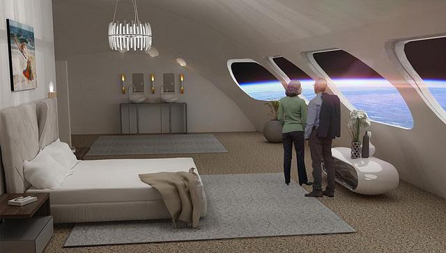 """""""Khách sạn ngoài vũ trụ đầu tiên khởi xây vào năm 2026 - ảnh 1"""