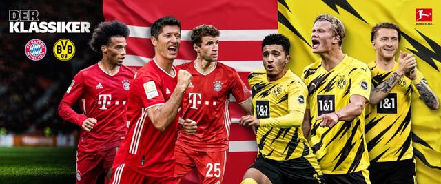 Bayern Munich – Dortmund: Siêu kinh điển nước Đức trực tiếp trên VTV5, VTV6 và ứng dụng VTV Sports (0h30 ngày 7/3) - Ảnh 2.