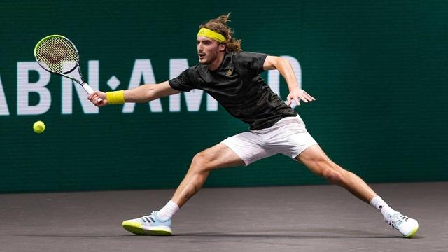 Giải quần vợt Rotterdam mở rộng 2021: Tsitsipas hẹn Rublev tại bán kết, Nishikori dừng bước - Ảnh 1.