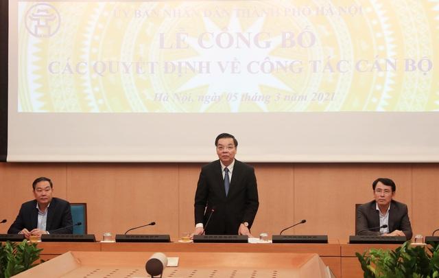 Hà Nội bổ nhiệm thêm 9 lãnh đạo cấp sở, đơn vị trực thuộc UBND thành phố - Ảnh 1.