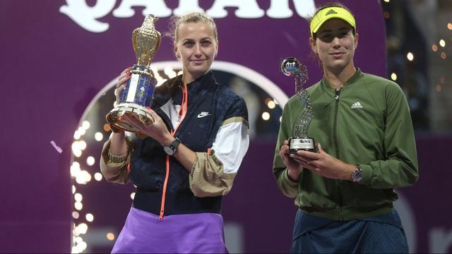Petra Kvitova vô địch Qatar mở rộng 2021 - Ảnh 2.