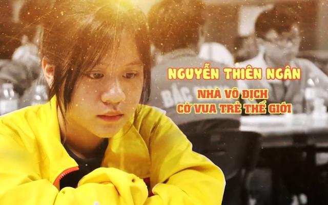 Gặp gỡ nhà vô địch cờ vua trẻ thế giới 14 tuổi Nguyễn Thiên Ngân - Ảnh 1.