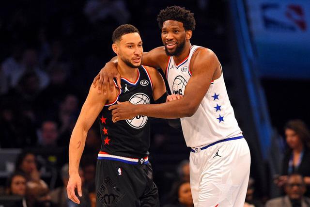 Bộ đôi Philadelphia 76ers vắng mặt tại NBA All-star 2021 - Ảnh 1.