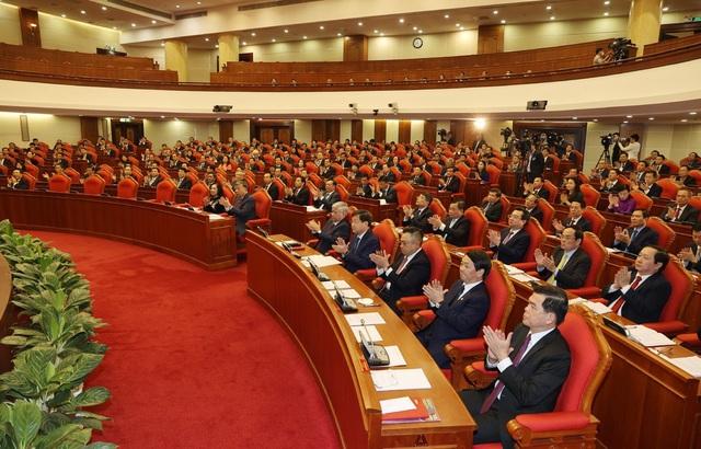 Khai mạc trọng thể Hội nghị lần thứ 2 Ban Chấp hành Trung ương Đảng khóa XIII - Ảnh 3.