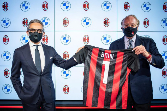 AC Milan công bố nhà tài trợ mới - Ảnh 1.