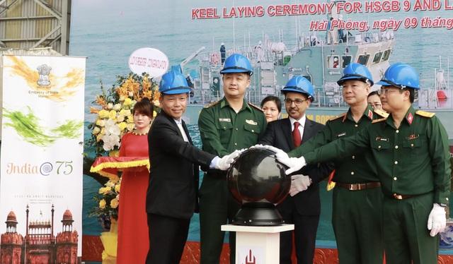 Hạ thủy 2 tàu tuần tra cao tốc thuộc gói tín dụng quốc phòng 100 triệu USD của Ấn Độ - Ảnh 3.