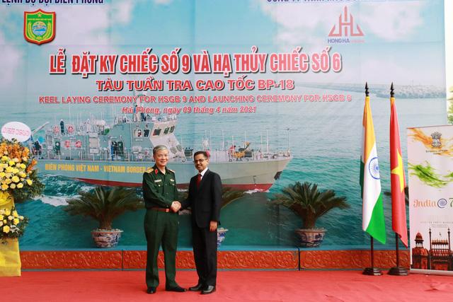 Hạ thủy 2 tàu tuần tra cao tốc thuộc gói tín dụng quốc phòng 100 triệu USD của Ấn Độ - Ảnh 5.