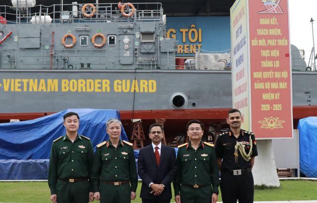 Hạ thủy 2 tàu tuần tra cao tốc thuộc gói tín dụng quốc phòng 100 triệu USD của Ấn Độ - Ảnh 6.