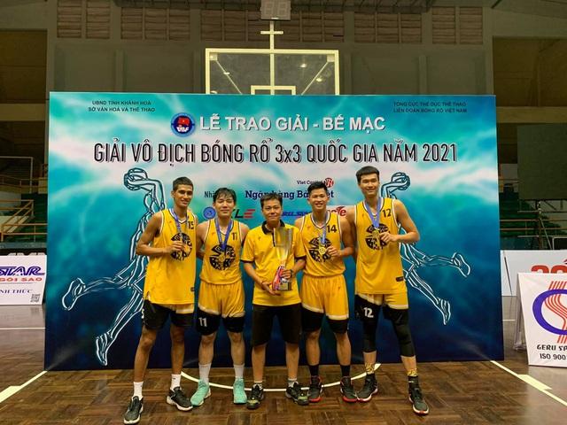 Sóc Trăng lập cú đúp tại giải bóng rổ VĐQG 2021 - Ảnh 1.