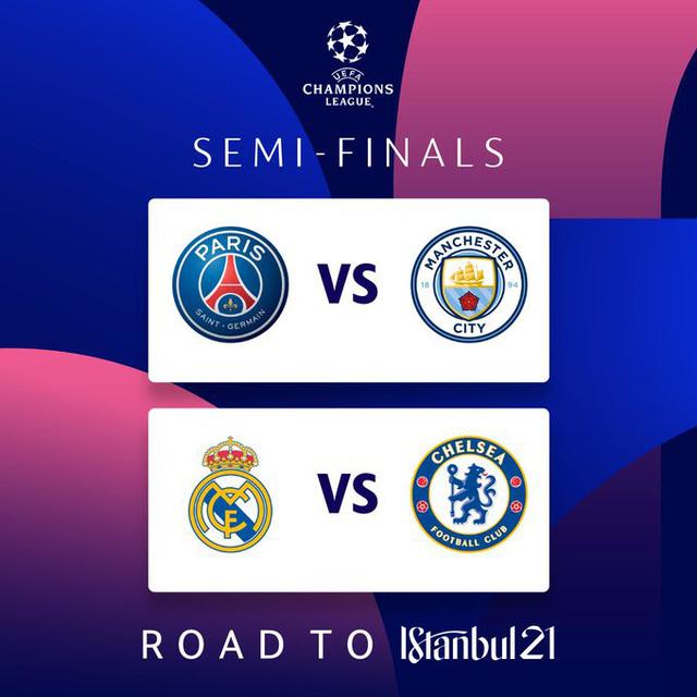 Xác định 2 cặp đấu bán kết Champions League - Ảnh 6.