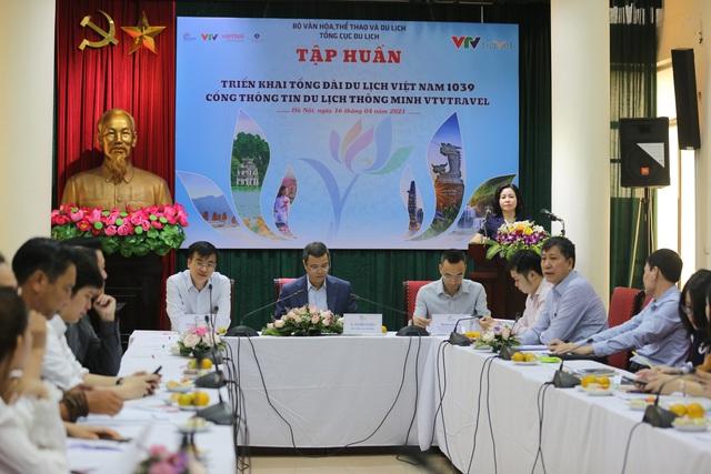 Tổng cục Du lịch tổ chức chương trình tập huấn nghiệp vụ triển khai Tổng đài du lịch Việt Nam 1039 - ảnh 1