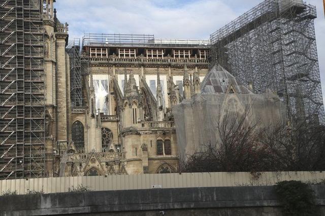 Việc xây dựng lại Nhà thờ Đức Bà có thể mất tới 20 năm - ảnh 3