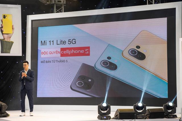 CellphoneS mở bán Xiaomi Mi 11 Lite 5G, siêu phẩm với chip Snap 780 đầu tiên của Xiaomi - ảnh 4