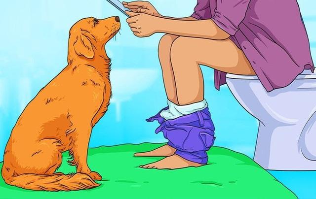 Giải mã 7 hành vi kỳ lạ hay gặp ở cún cưng - ảnh 1