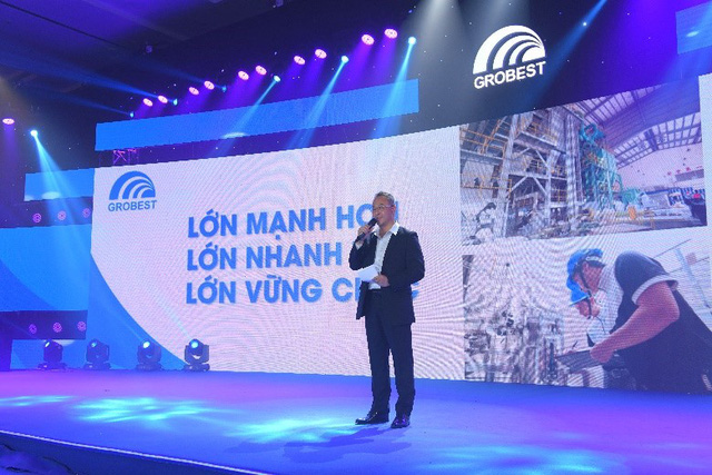 Mr. Samson Li, Grobest Global Chief Executive Officermade the opening speech at the Conference.