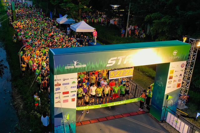 """Ecopark Marathon ấn tượng với """"cung đường chạy đẹp nhất Việt Nam"""" - Ảnh 1."""