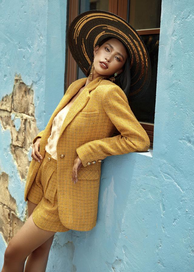 Hoa hậu Tiểu Vy khoe làn da rám nắng quyến rũ - ảnh 10