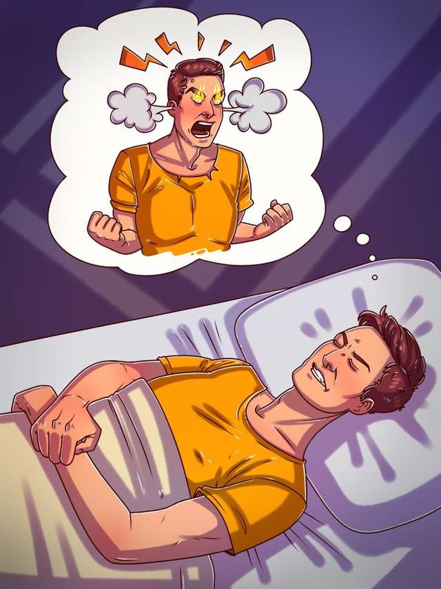Ngủ trong tức giận có thể gây tác hại không ngờ đến sức khỏe - Ảnh 1.