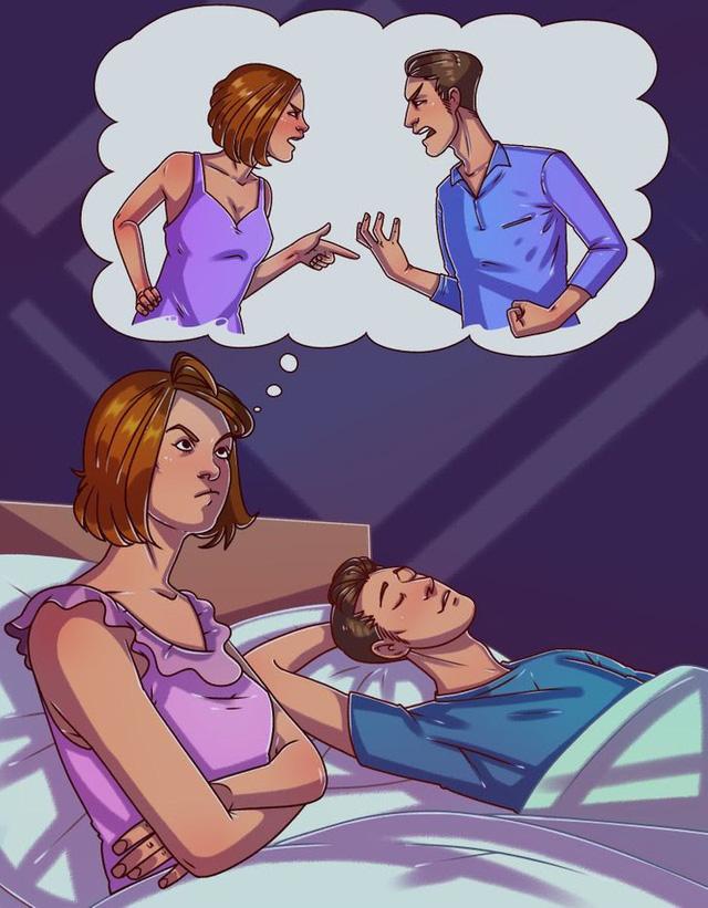 Ngủ trong tức giận có thể gây tác hại không ngờ đến sức khỏe - Ảnh 4.