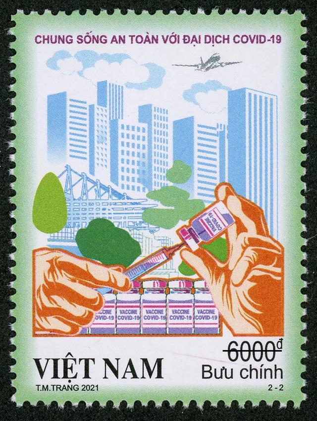 """Phát hành bộ tem """"Chung sống an toàn với đại dịch COVID-19"""" - Ảnh 2."""