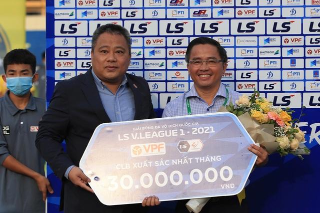 Chùm ảnh: Công Phượng ghi bàn, Hoàng Anh Gia Lai giành 3 điểm trước Đông Á Thanh Hóa - Ảnh 12.