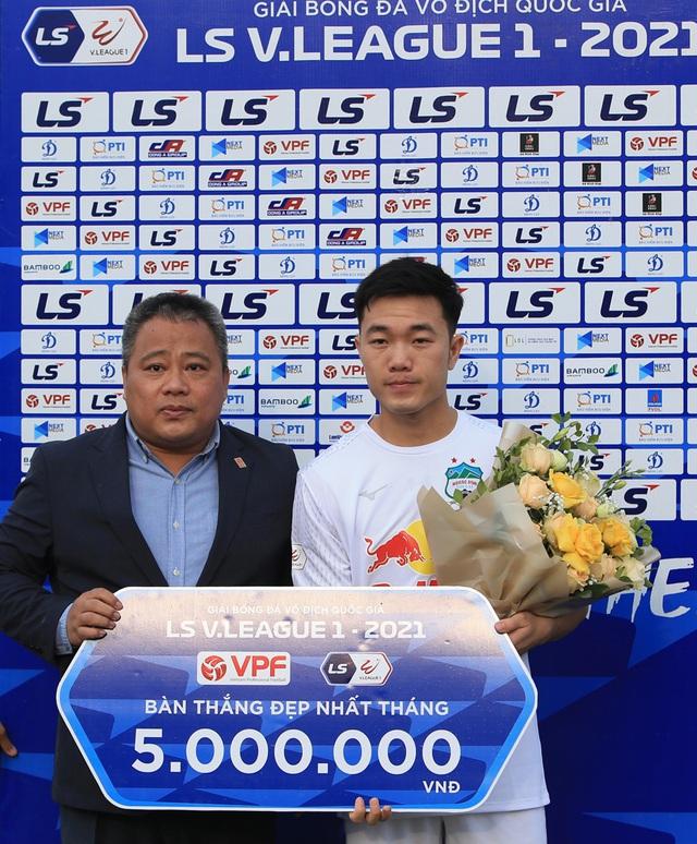 Chùm ảnh: Công Phượng ghi bàn, Hoàng Anh Gia Lai giành 3 điểm trước Đông Á Thanh Hóa - Ảnh 15.